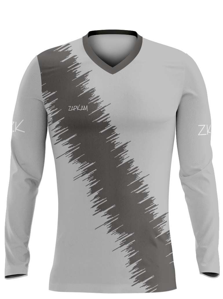 Diagonal Stripes Sublimated Hockey Shirts