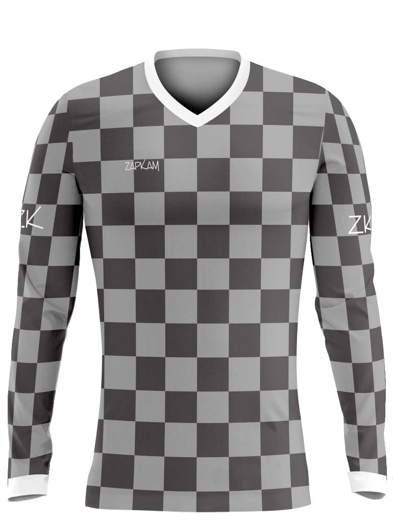 Chequered Sublimated Hockey Shirts