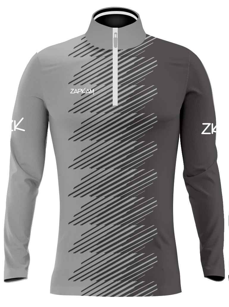 Faded Sublimated Quarter Zip Training Tops