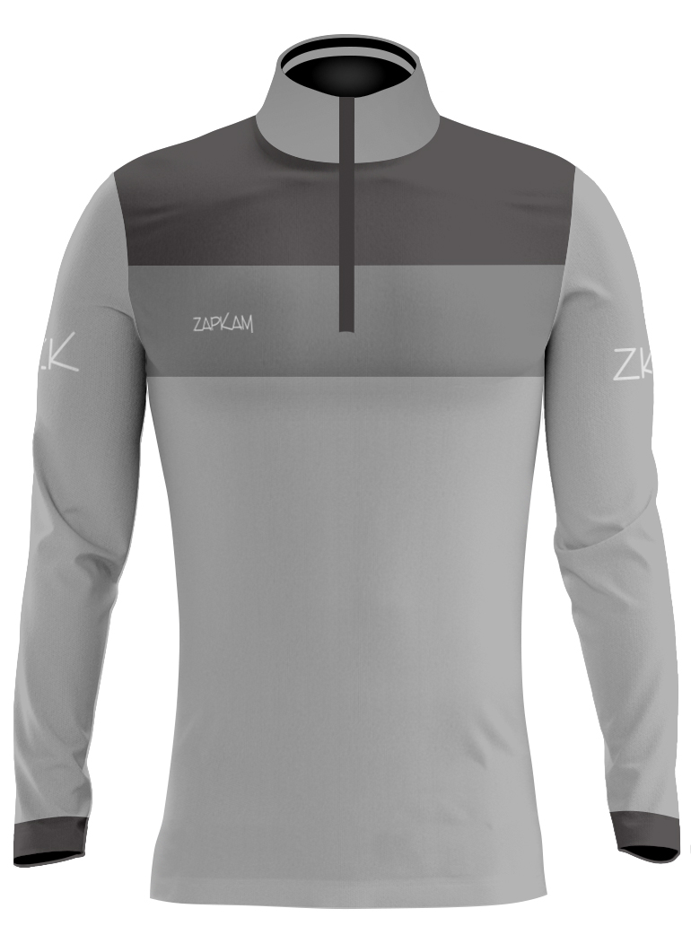 Side Panel Sublimated Quarter Zip Training Tops