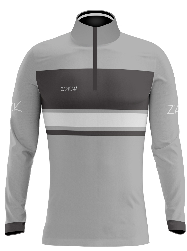 Hooped Sublimated Quarter Zip Training Tops