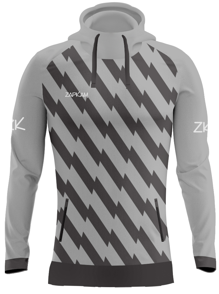 Striped Sublimated Pullover Hoodies
