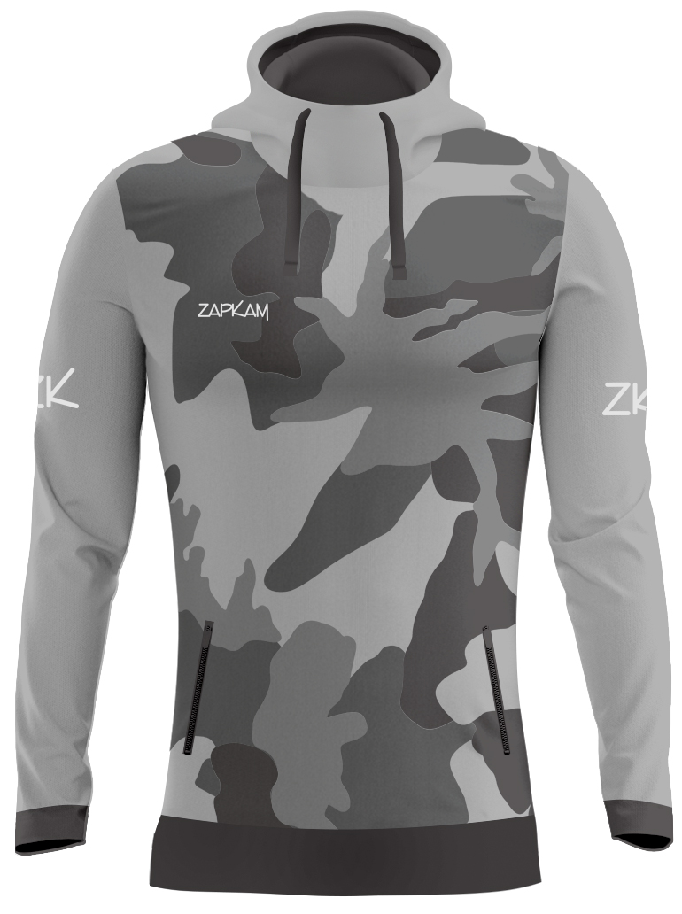 Camouflage Sublimated Pullover Hoodies