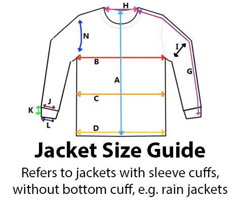 Jacket Size Guide