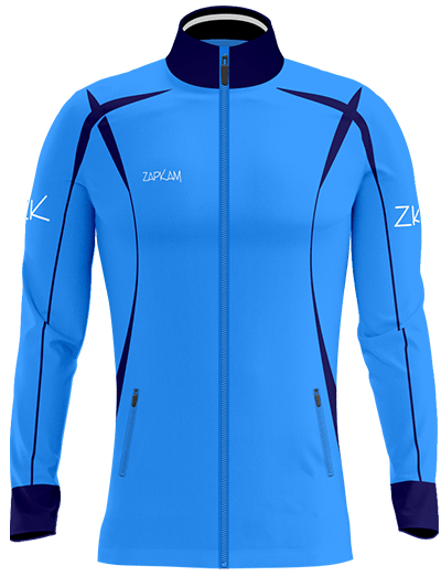 Design a tracksuit jacket