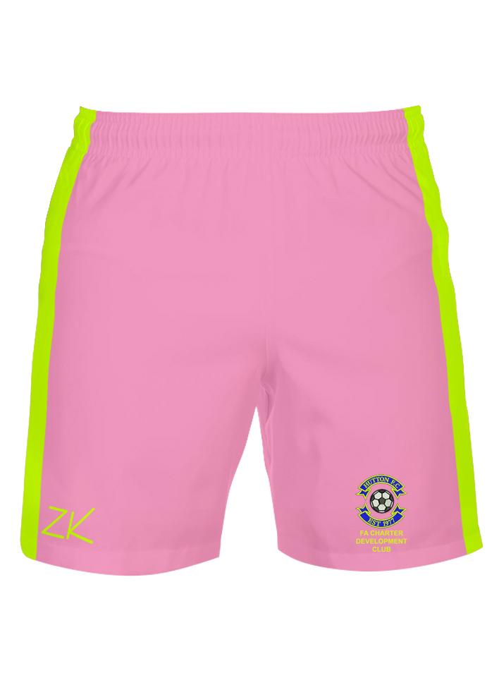 7f63cb3e8 Hutton FC Pink Foam Padded Goalkeeper Shorts