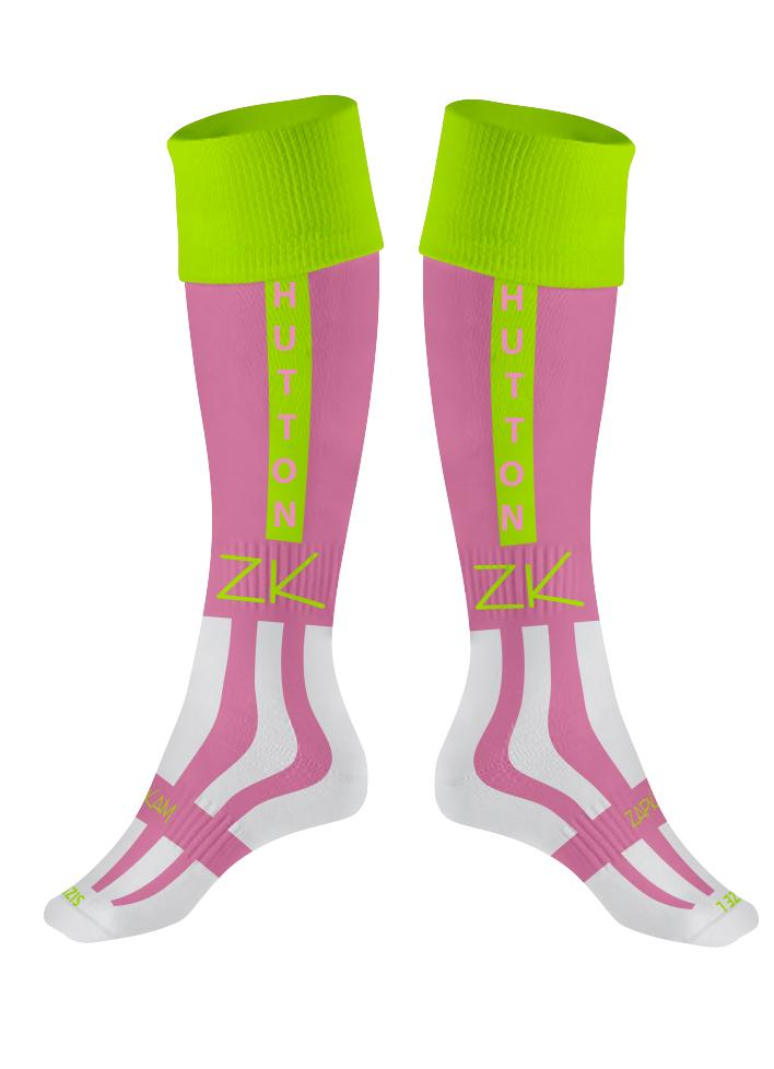 398bc7e0d Hutton FC Pink Goalkeeper Socks