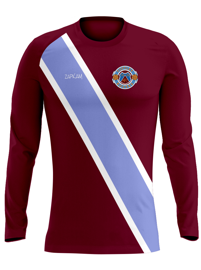d4a2a9f81 ... 2016 17 Tuffley Rovers Long Sleeve Home Shirt (No Sponsor) Home Kit  Tuffley
