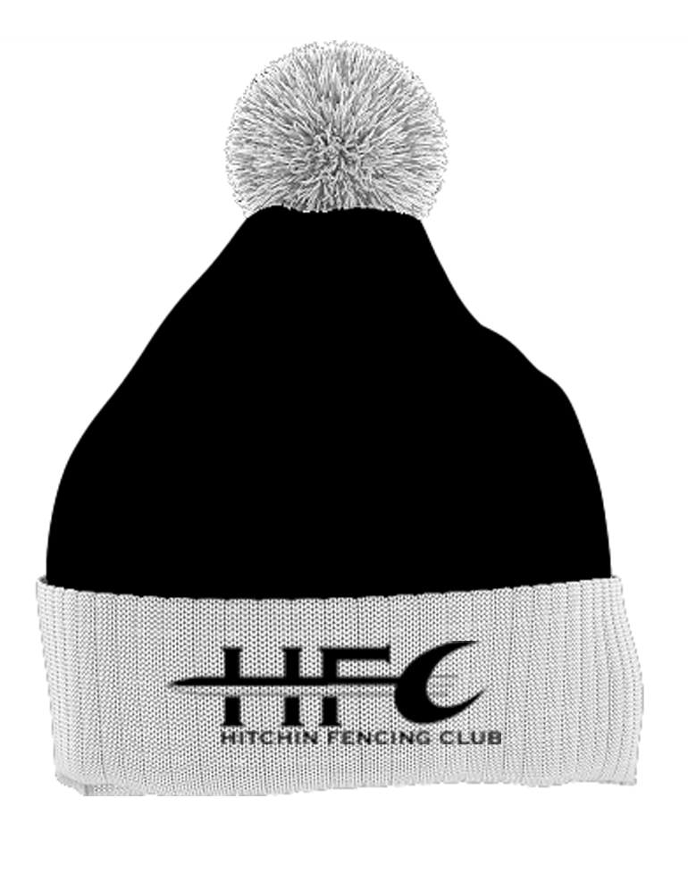 Hitchin Fencing Club Bobble Hat | Bobble Hats | Hitchin Fencing Club